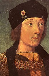 Young King Henry VII