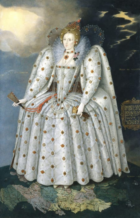 The Ditchley Portrait Elizabeth I