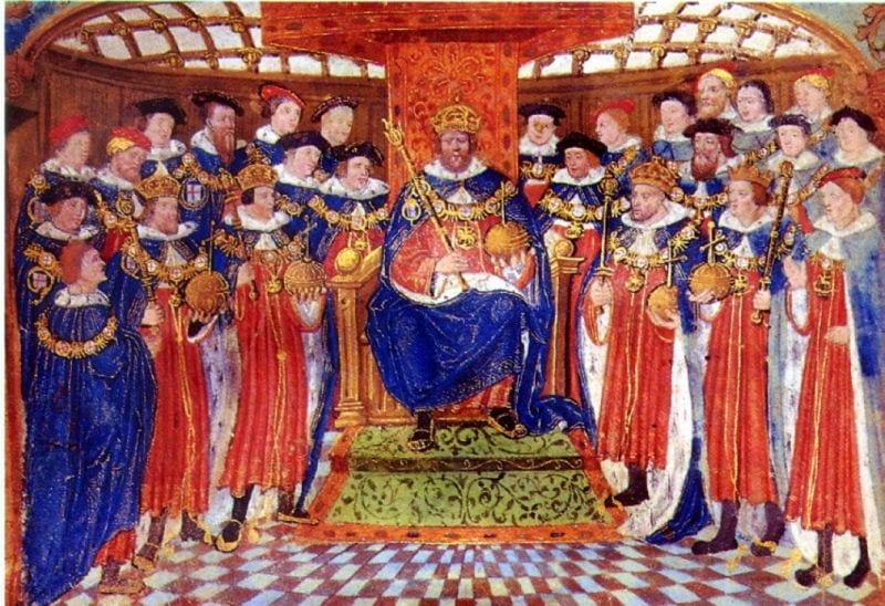 Henry VIII Coronation